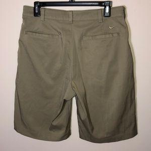 nike dri fit khaki shorts